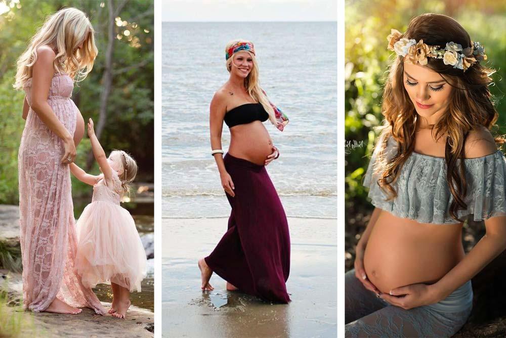 buena calidad envío gratis moda atractiva Las mejores ideas para tu sesión fotográfica de embarazo ...